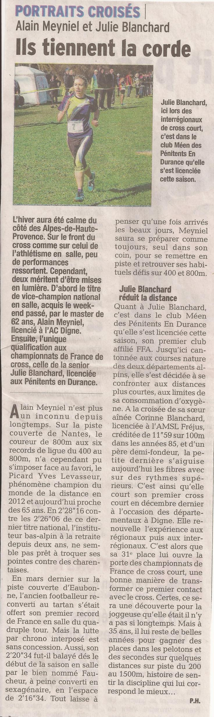article Alain Meyniel